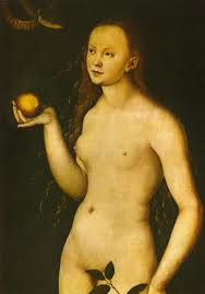 Eve with quince