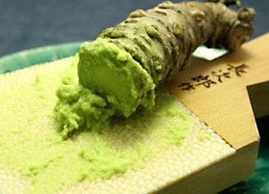grating wasabi