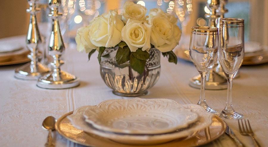 extravagant table